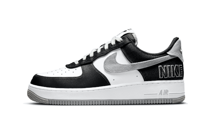 Air Force 1 Low '07 LV8 EMB Black Silver - CT2301-001 - Sneakersfromfrance