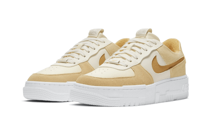 Air Force 1 Low Pixel Sail Tan - DH3856-100 - Sneakersfromfrance