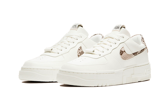 Air Force 1 Low Pixel Snakeskin - CV8481-101 - Sneakersfromfrance