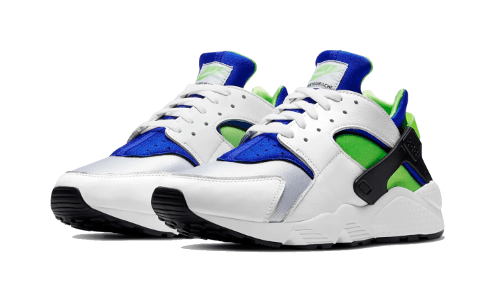 Air Huarache Scream Green (2021) - DD1068-100 - Sneakersfromfrance