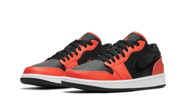 Air Jordan 1 Low SE Black Turf Orange - CK3022-008 - Sneakersfromfrance
