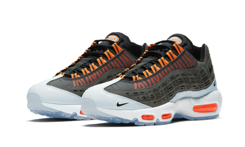 Air Max 95 Kim Jones Total Orange - DD1871-001 - Sneakersfromfrance