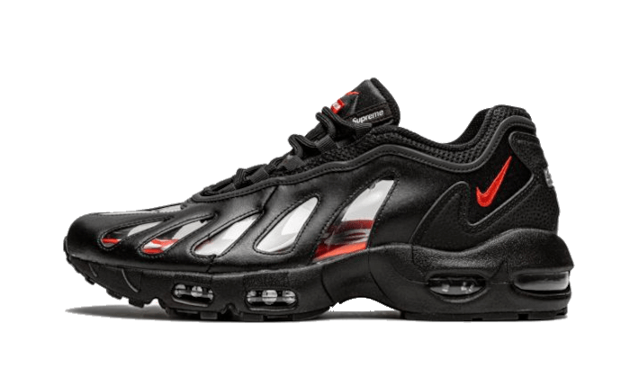 Air Max 96 Black Supreme - CV7652-002 - Sneakersfromfrance