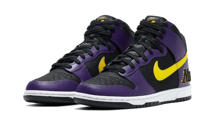 Dunk High EMB Lakers - DH0642-001 - Sneakersfromfrance