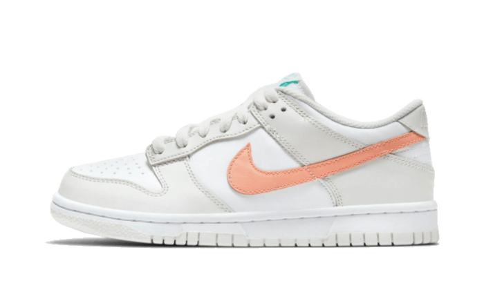Dunk Low White Bone Peach Aqua - CW1590-101 - Sneakersfromfrance