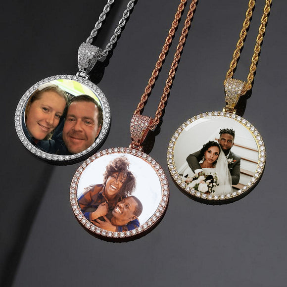 Shop the stylish and latest customizable hand made jewelry online. Personalize your necklace or Bracelet with a photo of your loved one, children, grandchildren, pets or just about anything you desire.