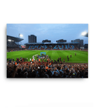 Last Game at the Boleyn - East Stand view - Canvas Print Ready To Hang Canvases