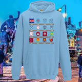 Kids WHU Badges Hoodie * Clothing