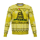 Don't Tread on Me Ugly Christmas Sweatshirt Fashion Sweatshirt - AOP