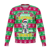 Snacks Schnauzer Dog Ugly Christmas Sweatshirt Fashion Sweatshirt - AOP