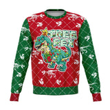 Tree Rex Ugly Christmas Sweatshirt Fashion Sweatshirt - AOP