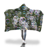 WHU Coloured Bubbles Hooded Blanket Hooded Blanket