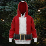 Kids Santa Clause Ugly Christmas Hoodie Hoodies