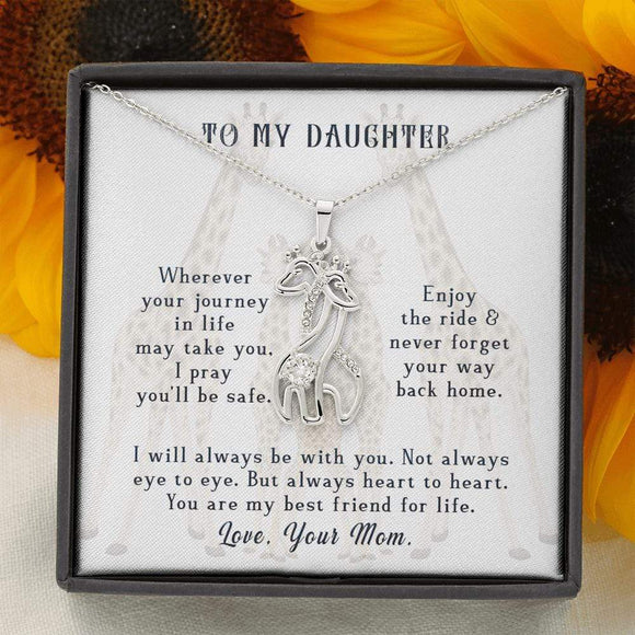 GIRAFFE NECKLACE TO DAUGHTER FROM MUM Jewelry
