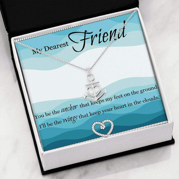 Friendship Anchor Pendant Jewelry