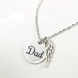 DAD lives in Heaven ETSY Jewelry