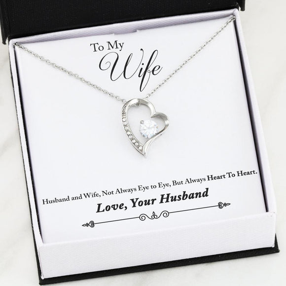 Forever Heart - To My Wife, Always Heart to Heart Jewelry