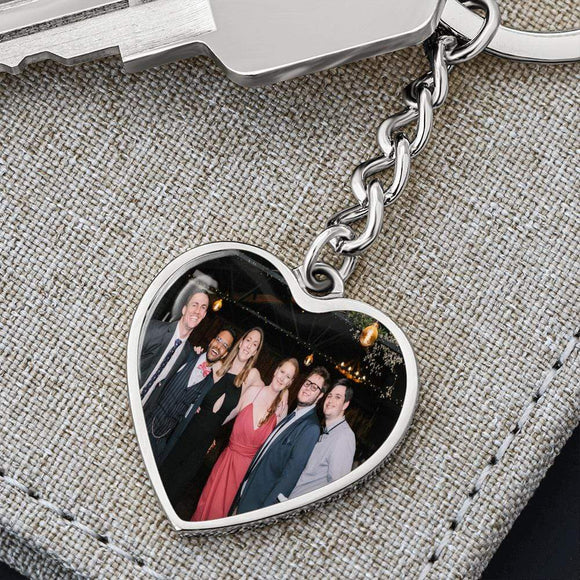 PHOTO HEART KEYCHAIN Jewelry