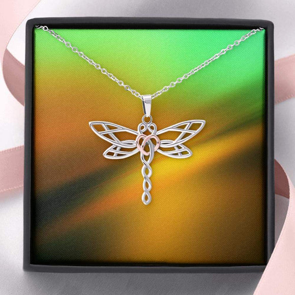 Dragonfly Necklace Jewelry