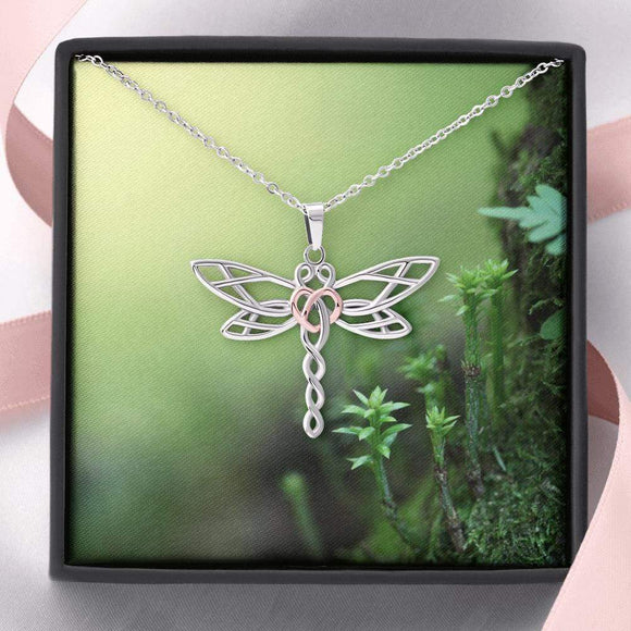 Dragonfly Necklace the perfect gift Jewelry