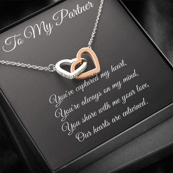 You've captured my heart Necklace Jewelry