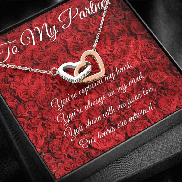 You've captured my Heart Necklace RED ROSES Jewelry