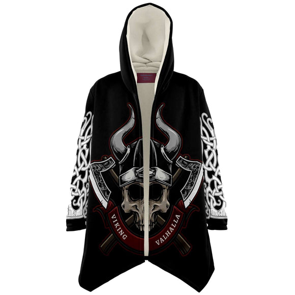 VIKING SKULL CLOAK 8 Microfleece Cloak - AOP