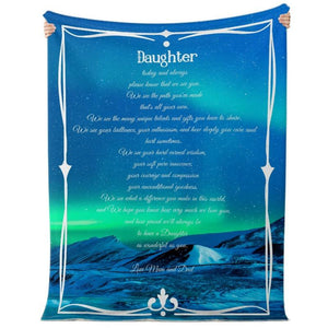 Blanket to Daughter from Mum and Dad #6