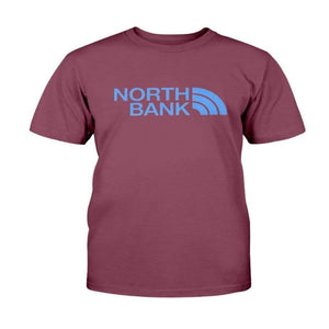 WEST HAM CLARET NORTHBANK Gildan Cotton T-Shirt