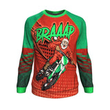 Trail Bike Santa Ugly Christmas Sweatshirt Sweater 🏍️🏍️🏍️ Sweatshirt