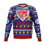 Home Run Baseball Ugly Christmas Sweatshirt - Sweatshirt