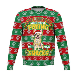 French Bulldog Ugly Christmas Sweatshirt Sweatshirts