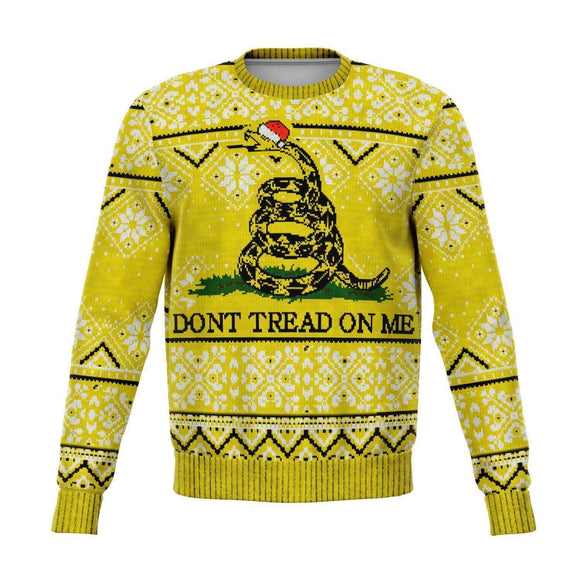 Don't Tread on Me Ugly Christmas Sweatshirt - Sweatshirt