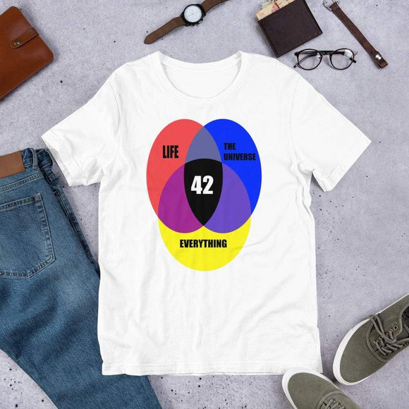 42 Answer to Life Universe Everything T-Shirt T-Shirt