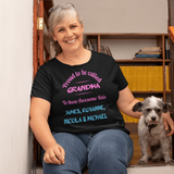 Proud to be called Grandma T-Shirt T-Shirts