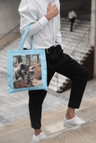 Canvas Tote Bag - Koala and Kookaburra Tote Bag