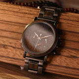 Wooden Watch for Men With Calender Watch