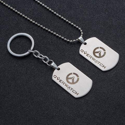Overwatch Necklace & Keychain