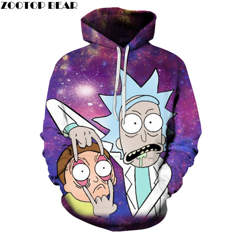 Rick and Morty Woman Hoodie