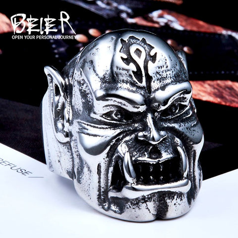 World Of Warcraft ORC Rings For Men