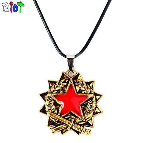 Counter Strike Pendant Necklace