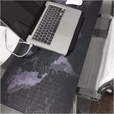 Large Size Keyboard Mat World Map