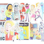 35pcs/bag a Rick And Morty Funny Sticker Decal