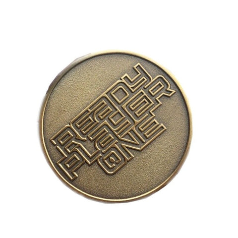 Ready Player One EXTRA LIFE Coin Keychain