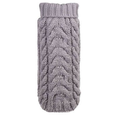 - Cable Knit Gray Turleneck Dog Sweater clothes for small dogs cute dog apparel cute dog clothes dog apparel dog hoodies