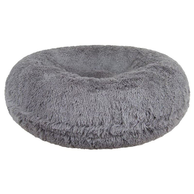 - Siberian Gray Shag Bagel Bed NEW ARRIVAL