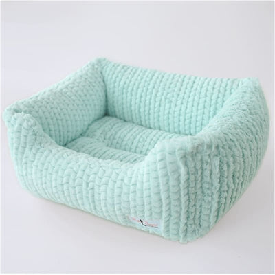 Paris Dog Bed in Ice BEDS, bolster dog beds, DOG BEDS, luxury dog beds, NEW ARRIVAL