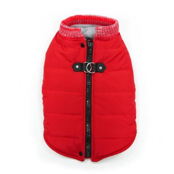 - Red Runner Dog Coat clothes for small dogs COATS cute dog apparel cute dog clothes dog apparel