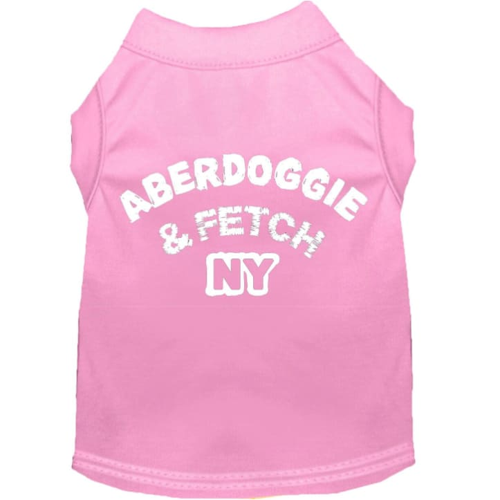 - Aberdoggie And Fetch Dog T-Shirt