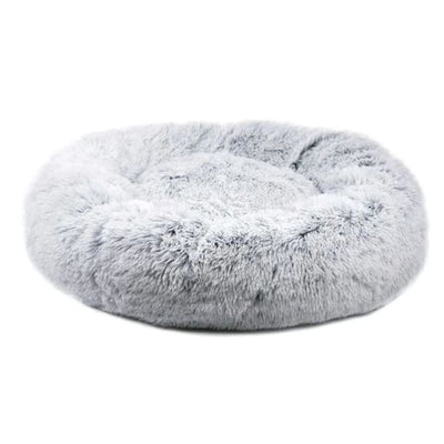 Orthoplush Gray Two-Tone Dog Bed - 28 NEW ARRIVAL